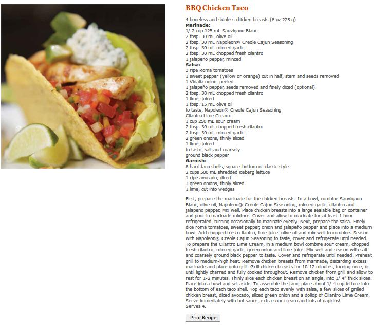 BBQ Taco